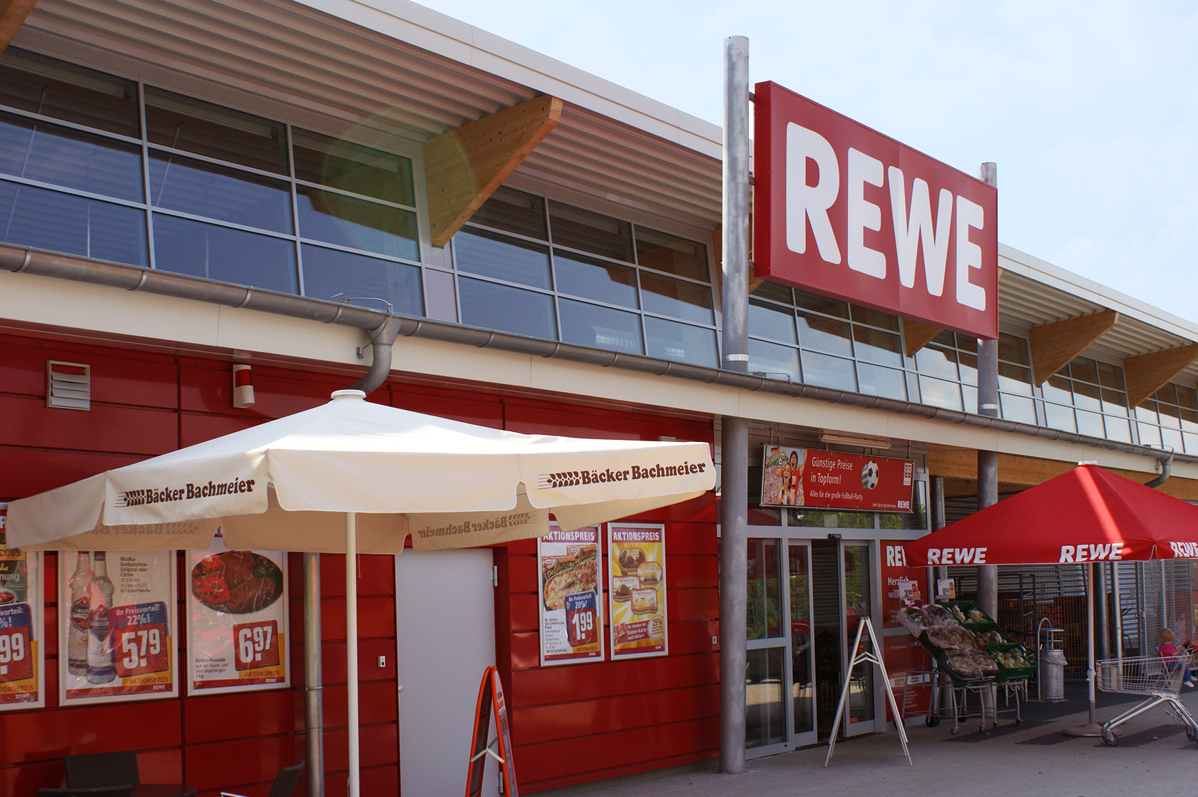 Harrer Metallbau - REWE-1